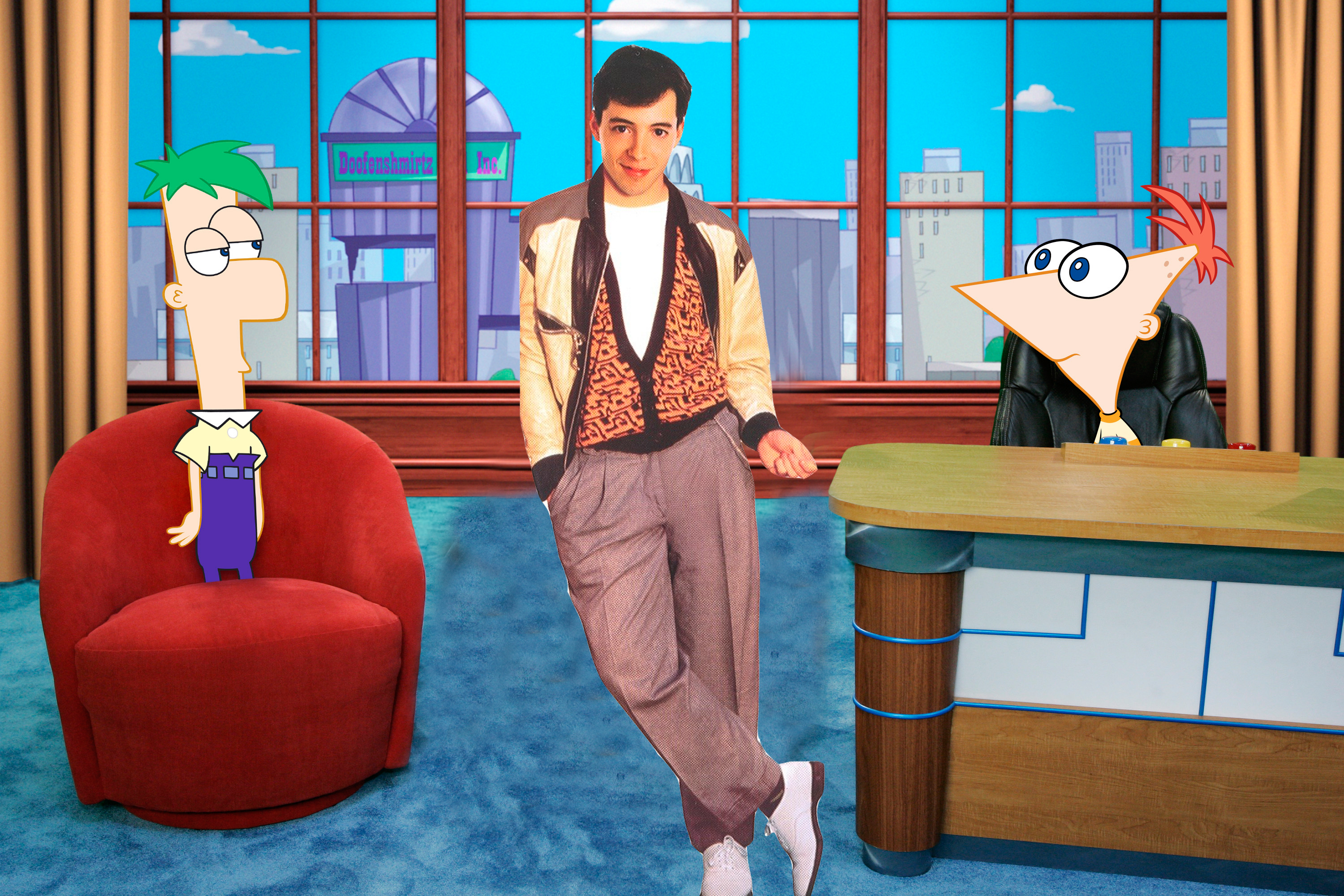 606062491 Phineas and Ferb   Ferris Bueller s Day Off