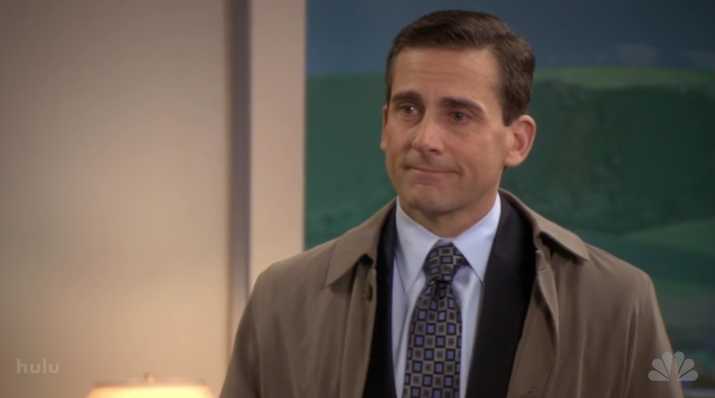 Image result for goodbye michael office episode